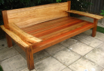 Camphor Laurel Slab Daybed (King Single)