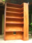 Mixed Hardwood Bookcase