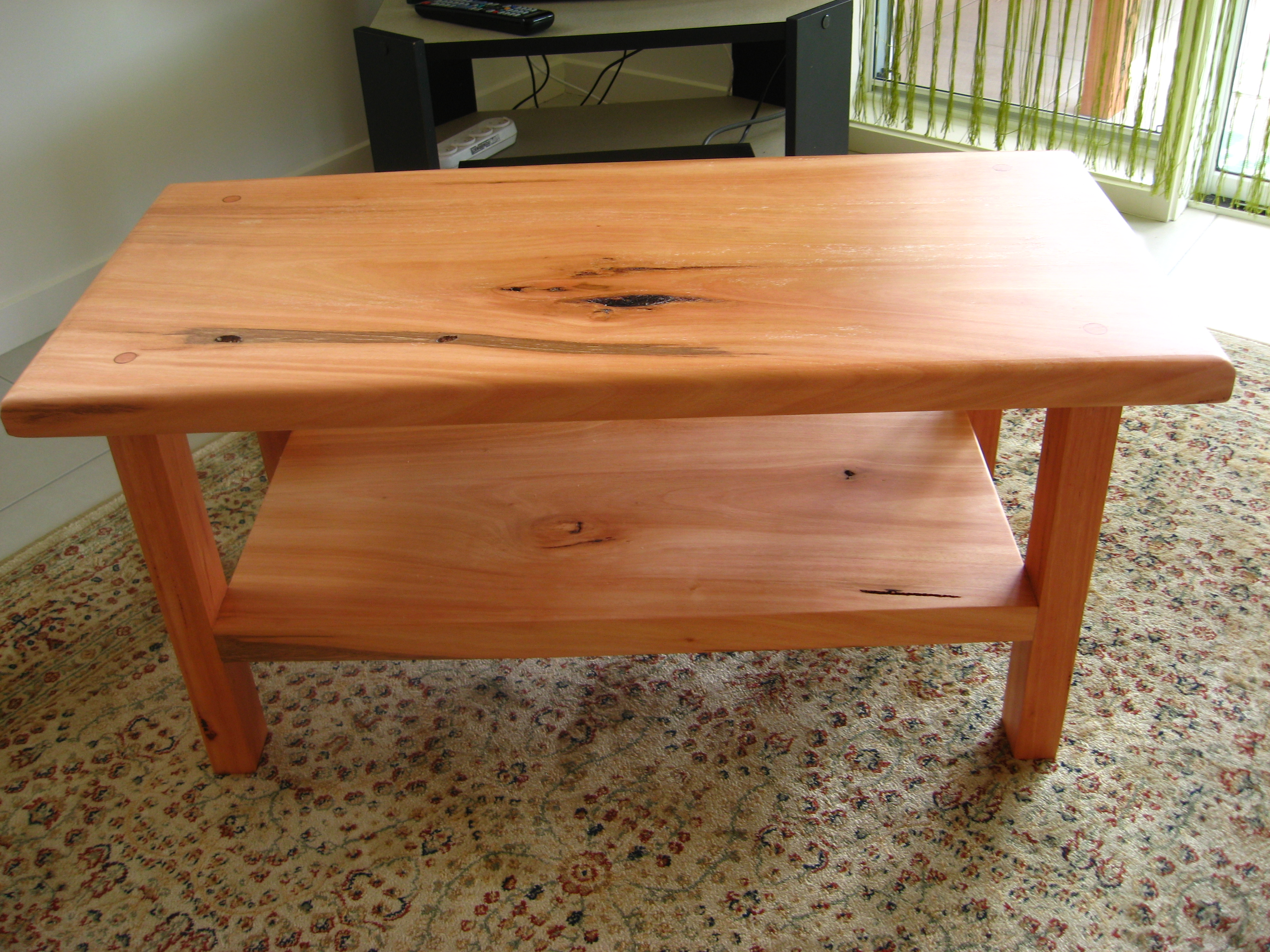 Basic Wood Coffee Table Plans